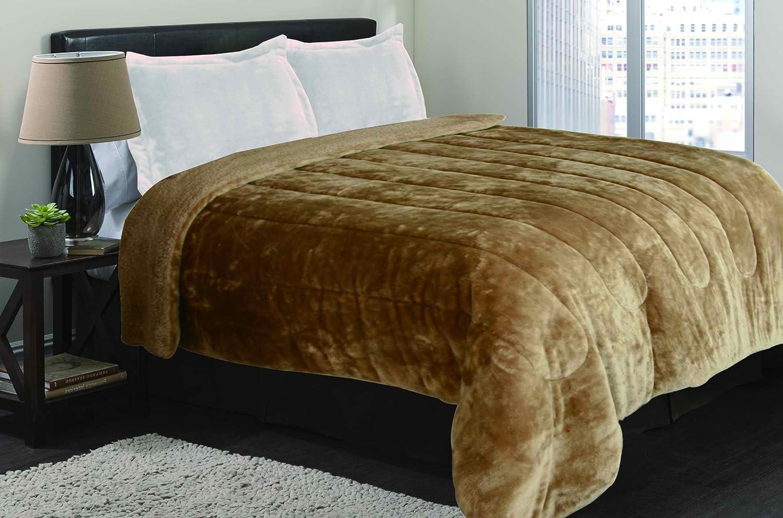 Amazon.com: Garden Home Luxurious Borrego Blanket Super Soft Plush ...