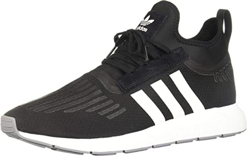 Adidas Swift Run Barrier Black White Grey