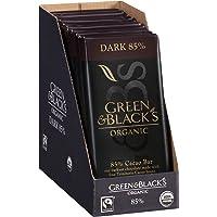 10-Pack Green & Black's Organic Dark Chocolate (85% Cacao)