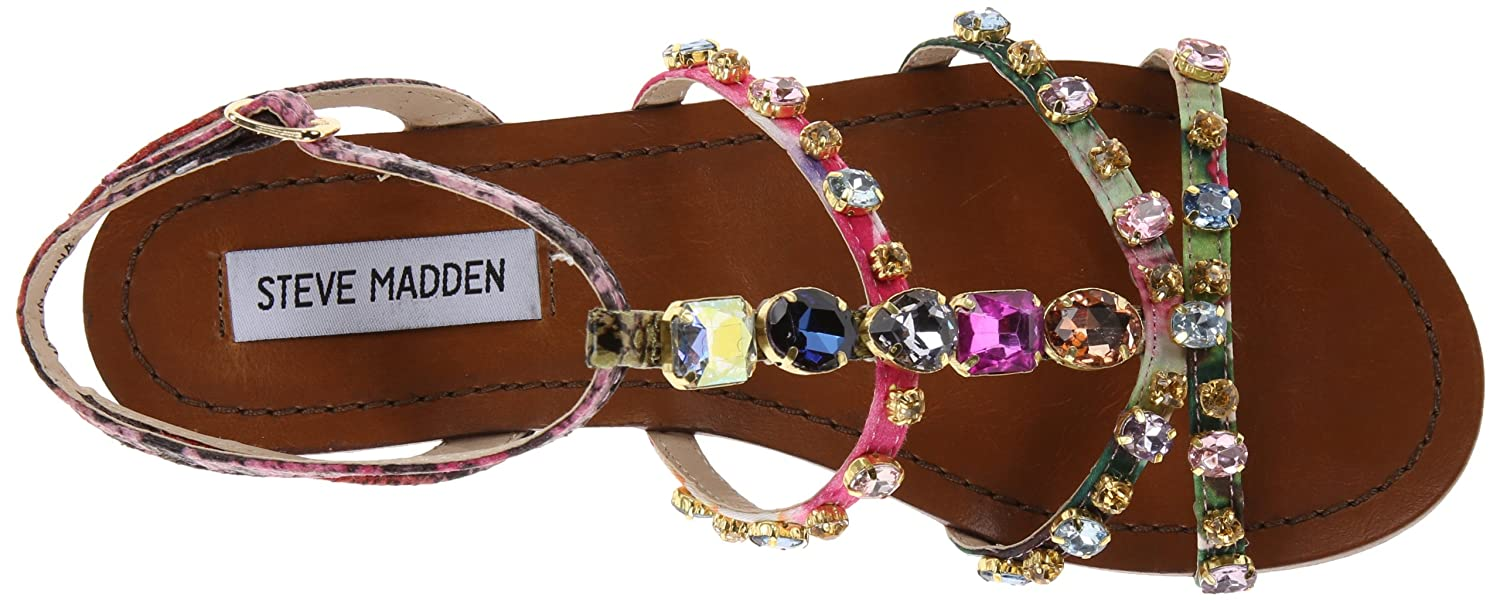 076f79d9d4280 Amazon.com | Steve Madden Women's B Jeweled Sandal | Flats