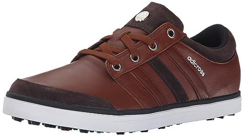 new styles 0d392 b36f4 Adidas Golf Men s adicross Gripmore Tan Brown Chocolate Power Green Sneaker  15 D -