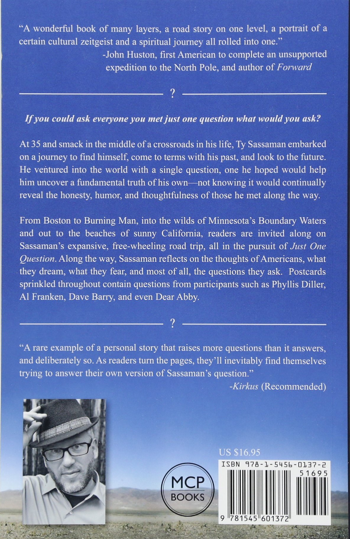 Just one question a road trip memoir ty sassaman 9781545601372 just one question a road trip memoir ty sassaman 9781545601372 amazon books fandeluxe Images
