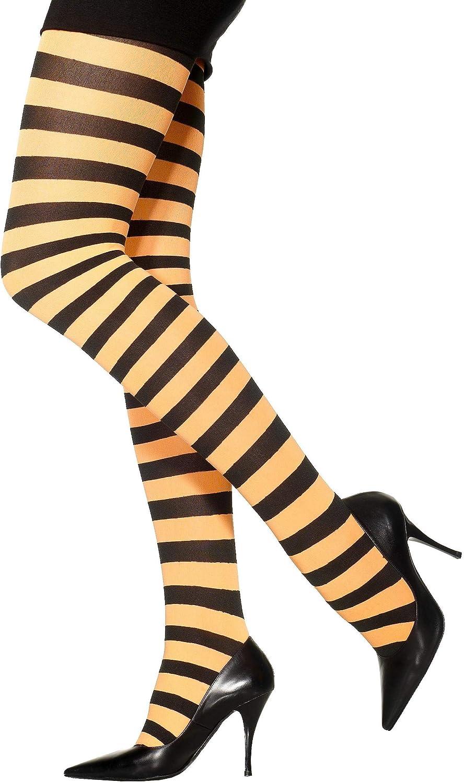 Widmann/?/Collants /à rayures orange//noir