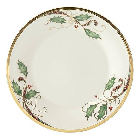 Lenox Holiday Nouveau Gold Salad Plate  sc 1 st  Amazon.com & Amazon.com: Lenox Holiday Nouveau Gold Salad Plate: Lenox Holiday ...