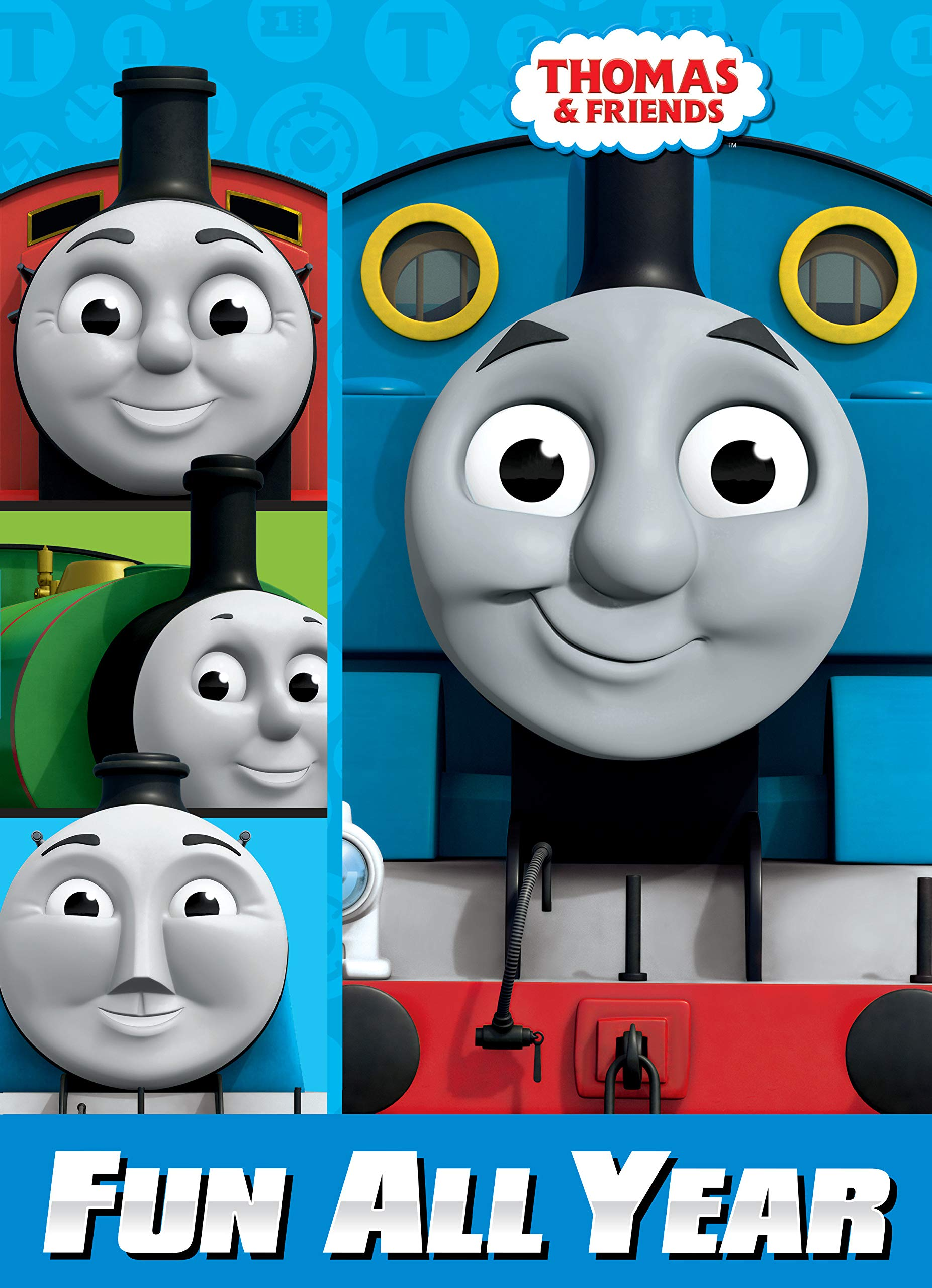 - Fun All Year (Thomas & Friends) (Super Coloring Book): Amazon.co