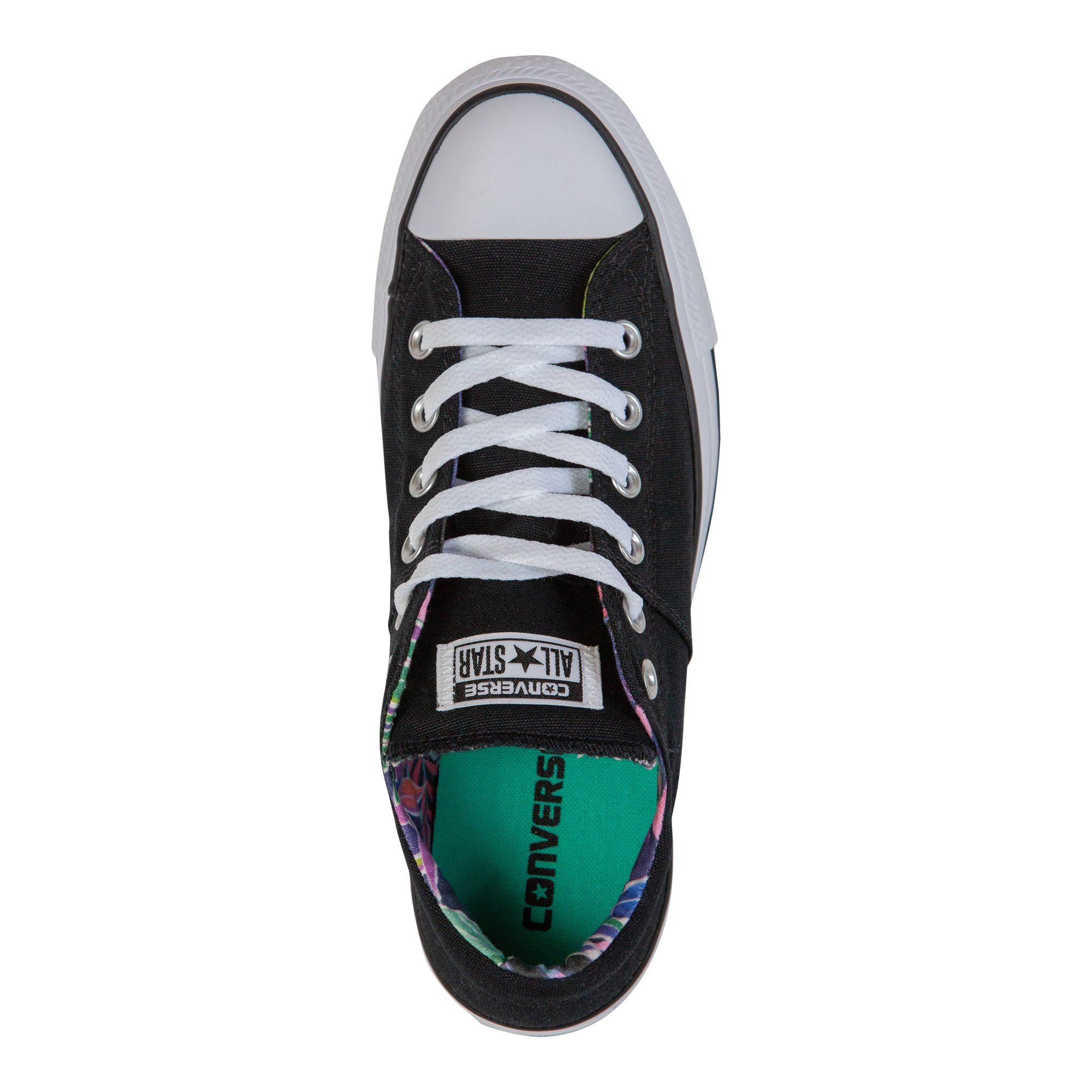 Converse Women's Chuck Taylor All Star Madison Sneakers, Black/White/White, 8 B(M) US by Converse (Image #5)