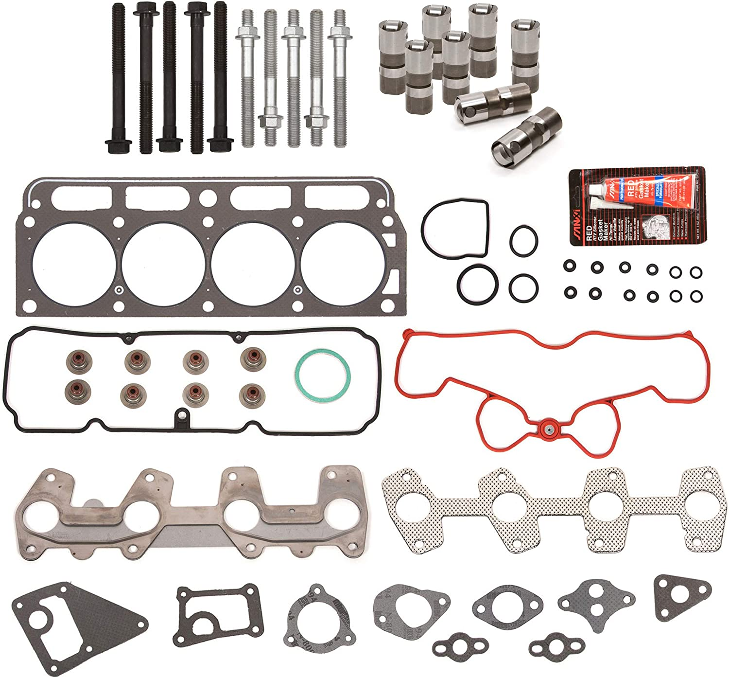 HS9170PT-2 Felpro Set Head Gasket Sets New for Chevy S10 Pickup Chevrolet S-10