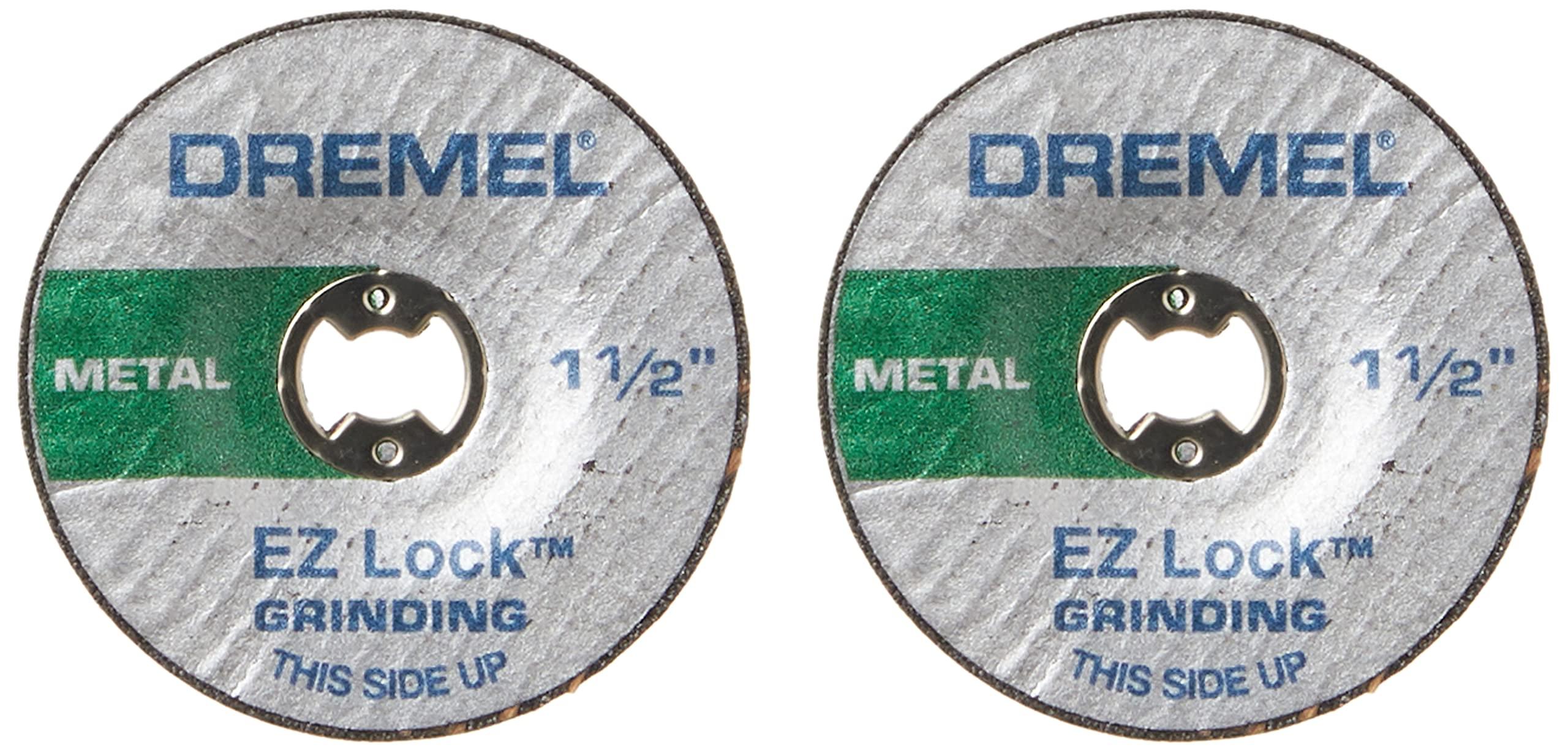 Dremel EZ541GR EZ Lock Grinding Wheel - Metal , green