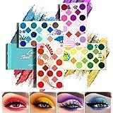 EYESEEK 64 Colors Eyeshadow Palette Professional High Pigmented Makeup Pallet Colorful Rainbow Color Makeup Eyeshadow Palette
