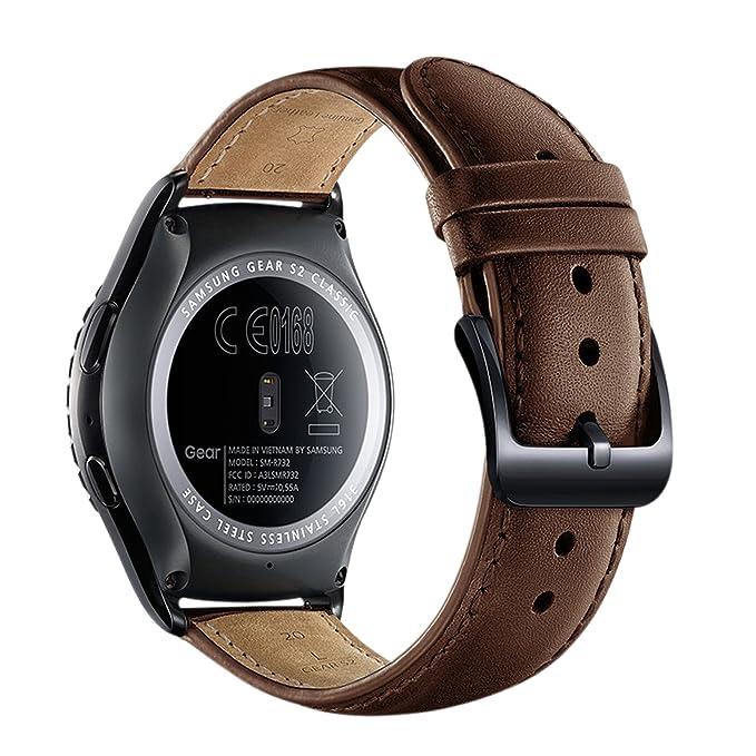 KINGLOO Gear S2 Classic Smart Watch Band - Correa de ...