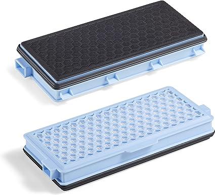 Supremery 2X Filtro HEPA Compatible con Miele SF-HA 50 Filtro de Aspirador con carbón Activo contra olores S8000 S6000 S5000 S4000 Series Complete C2 C3 Compact C1 C2 S8340 S6240 S5211: Amazon.es: