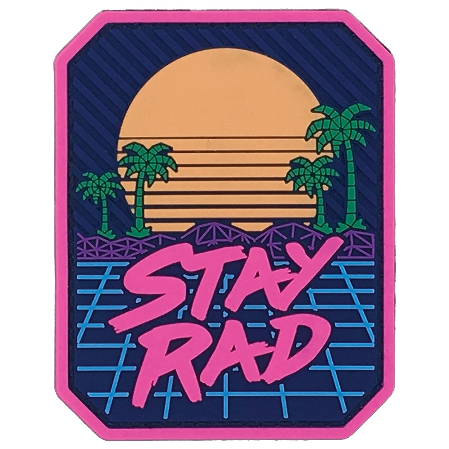 Stay Rad PVC Patch (Full Color) Mil-Spec Monkey 4337020630