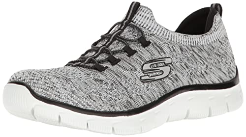 Skechers Empire-Sharp Thinking amazon-shoes neri Senza tacco Toma De Éxito De Ventas En Venta Baúl f72vTsbhnL