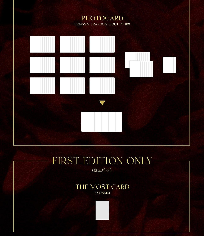Folded Poster Set A,b,c avec avantages de la pr/é-commande : affiche, kit de photocarde, cadeau vendeur : un ventilateur pratique en acrylique al/éatoire Twice More and More 9e mini album