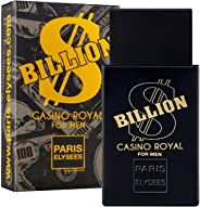 Eau de Toilette Billion $ Casino Royal, Paris Elysees, 100 ml
