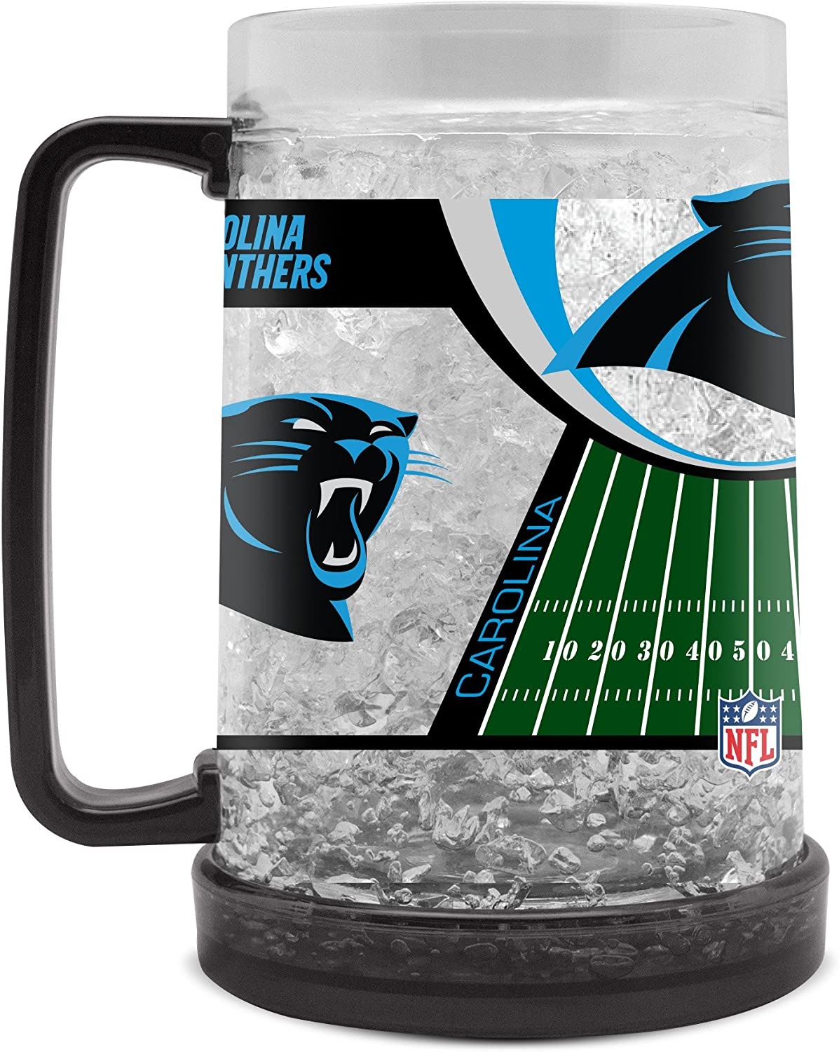 NFL Carolina Panthers 16oz Crystal Freezer Mug