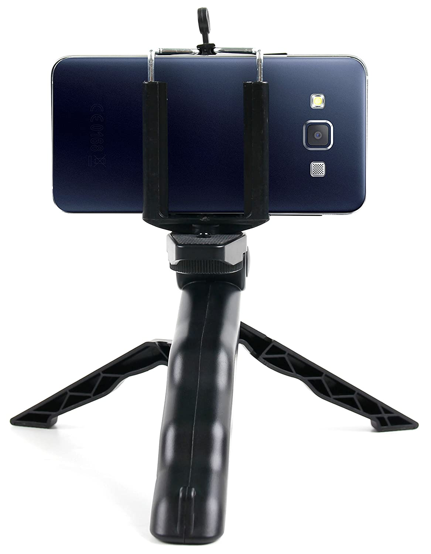 Samsung Galaxy S10 Samsung Galaxy S10+ DURAGADGET Mini Tr/ípode//Selfie Stick para Smartphone Samsung Galaxy S10 5G Samsung Galaxy S10E