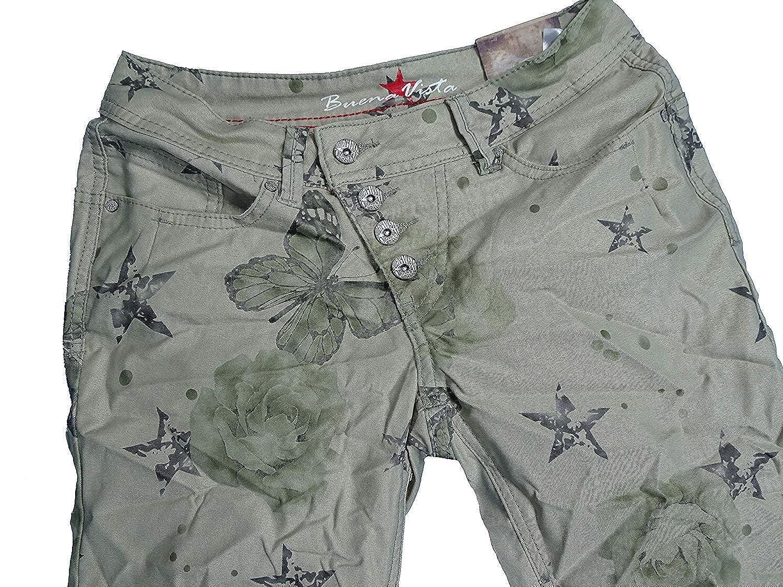 Buena Vista Malibu Butterfly Pantalones Cortos para Mujer