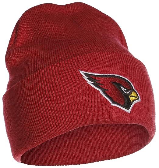 Amazon.com  NFL Arizona Cardinals Cuffed Beanie - Cardinal  Sports    Outdoors dc7e90428