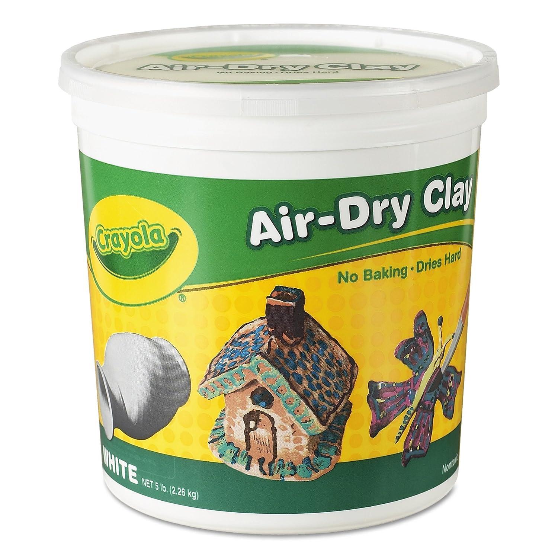 Crayola Llc Crayola Air Dryクレイ5 lbsホワイト 57-5055 B00QFX957A  6
