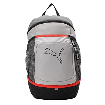 632a6b41f31b Puma 22 Ltrs Grey Backpack (7567204)  Amazon.in  Bags