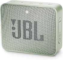 Caixa de Som Bluetooth - 1.0 - JBL GO 2 - Verde (À prova de água) - JBLGO2MINTBR