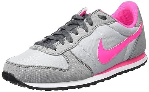 detailed look 32ff2 0657d Nike Wmns Genicco Canvas, Zapatillas de Deporte para Mujer, Gris (Wolf Pink  Blast-Dark Grey), 36 1/2 EU: Amazon.es: Zapatos y complementos