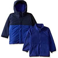 The Children's Place Baby Boys Solid 3 in 1 Jacket