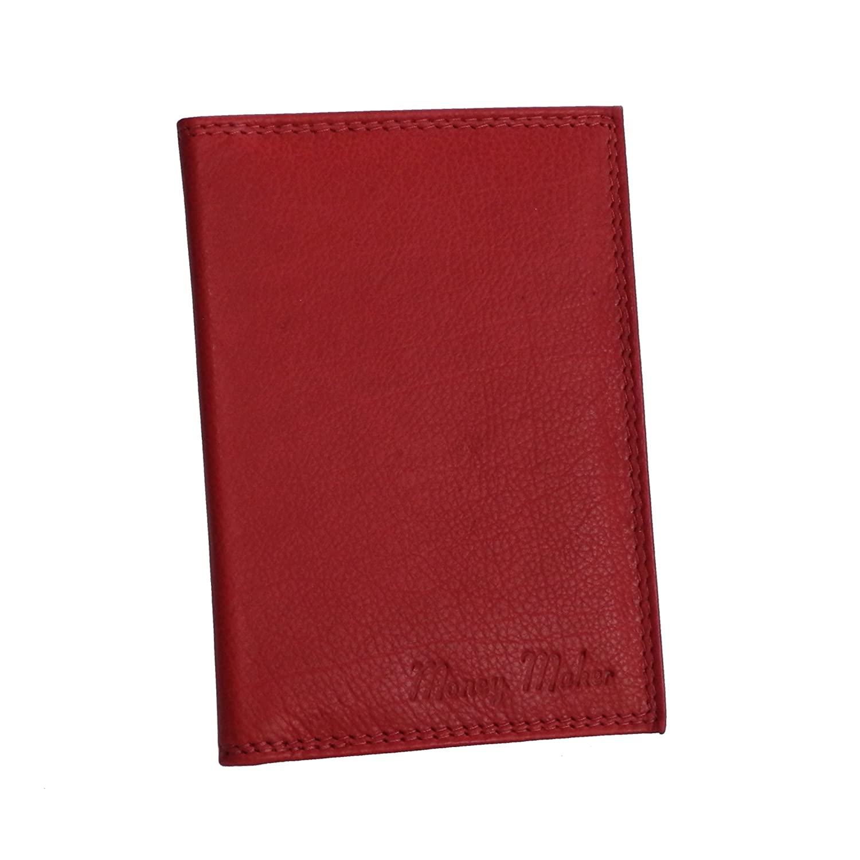 Money Maker - Wild Things Only - Leder Dokumentenmappe Ausweismappe Kreditkartenmappe Führerscheinhülle in versch. Farben - präsentiert von ZMOKA® (Bordeaux)