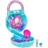 Shopkins Lil Secrets Playset - Collectable Mini Playset with Secret with Shoppie & Shopkin Toy Inside Bubbling Beauty Day Spa Blue