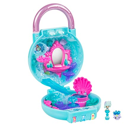 f7a7d9179f6 Amazon.com  Shopkins Lil  Secrets Mini Playset - Bubbling Beauty Day Spa   Toys   Games