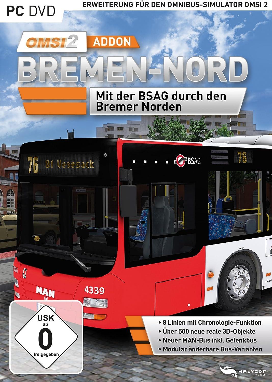 OMSI 2 - AddOn Bremen - Nord - PC [Importación alemana]