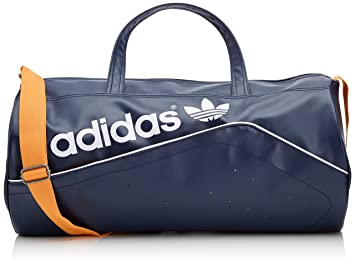 1e0b7673c72 adidas Duffel Perforated Bag - Collegiate Navy Collegiate Gold White, One  Size