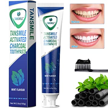 Seven best charcoal toothpastes for pearly white smile