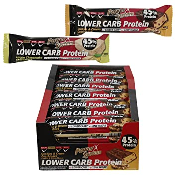 Power System Low Er Carb Protein Riegel Mit 45 Eiweiss Bar 28 X