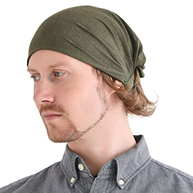 Casualbox Mens Head Cover Band Bandana Stretch Hair Style Japanese Mix  Khaki  Amazon.in  Clothing   Accessories f66e70a8704