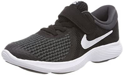 a14f99e282 Nike Unisex Kids Revolution 4 (PSV) Running Shoes, Black/White Anthracite  006
