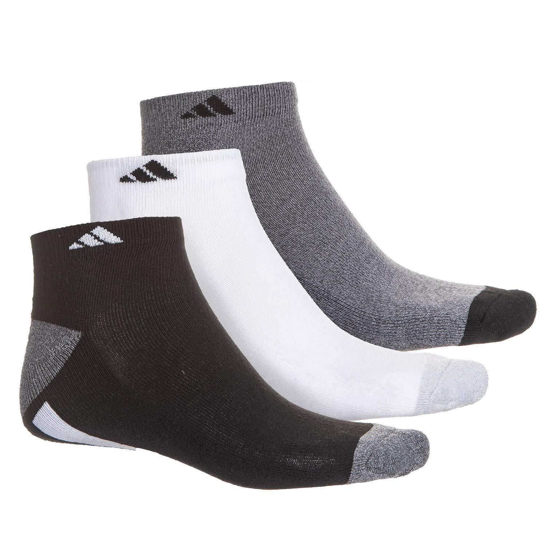 Amazon.com  adidas Men s Cushioned Low Cut Socks (3 Pack)  Clothing 8524d2eb60