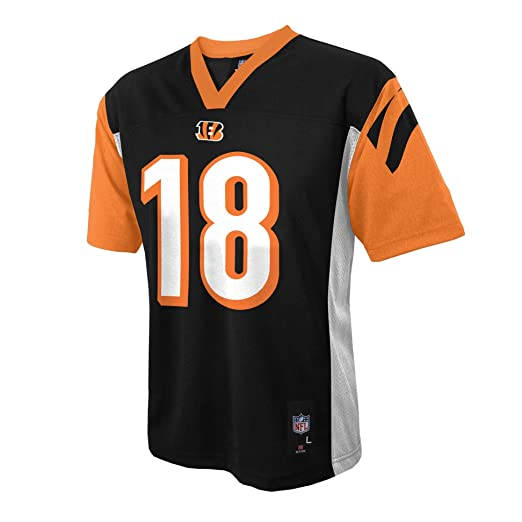 0cf1f6c9 Outerstuff NFL Cincinnati Bengals AJ Green Youth Boys 8-20 Mid-Tier Jersey