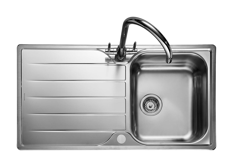 Rangemaster Michigan Countersunk - Sink Sink, Rectangular, Stainless ...