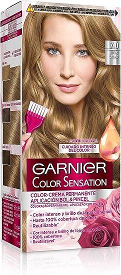 Garnier Color Sensation - Tinte Permanente Rubio 7 ...
