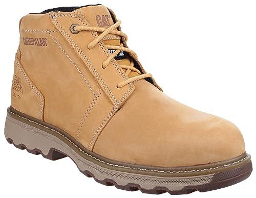 0e27da0f885db0 Caterpillar Cat Parker Brown/Tan SBP Work Safety Boots Steel Toe ...