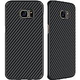 Galaxy S7 Edge Case, SANMIN Nillkin [Black] Ultra Slim Light Carbon Fiber Armor Case Cover for Galaxy S7 Edge
