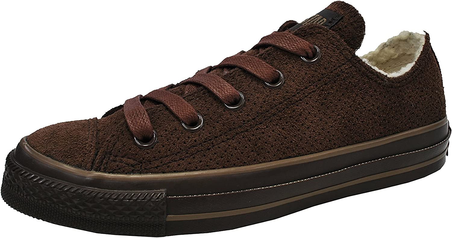 inventar su Hora  Amazon.com | Converse Men's Shoes All Star Leather Low Chocolate Brown  Sneaker (4 Men's / 6 Women's) | Fashion Sneakers