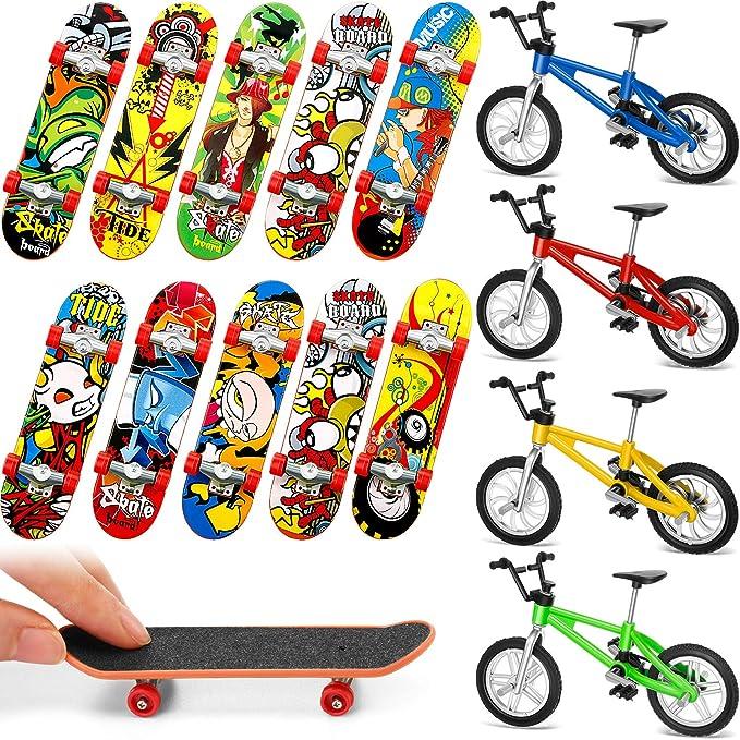 8X Tech Deck Finger Bike Bicycle And Skateboard Kids Children Wheel Toys Gift k