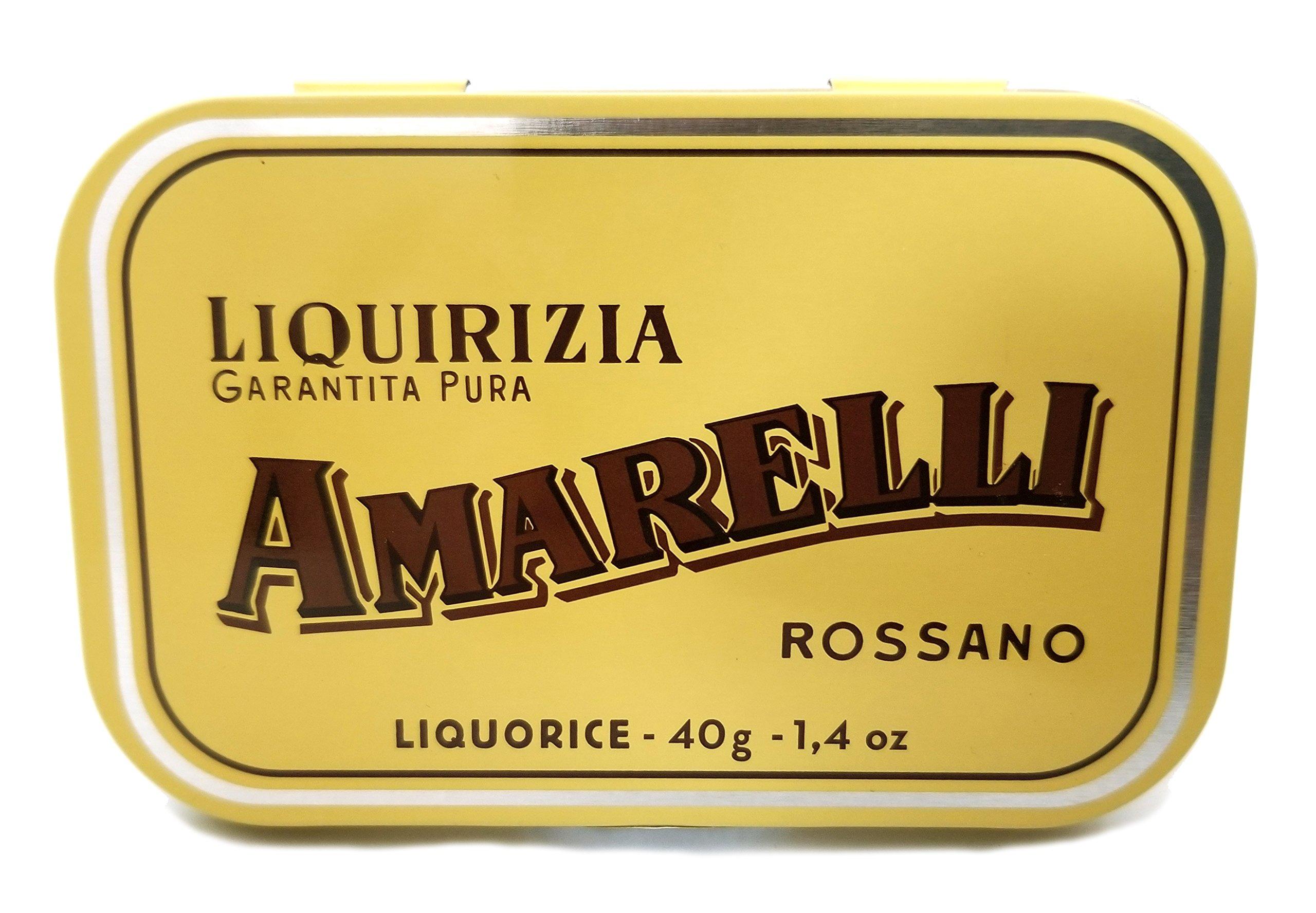 Amarelli Rossano Licorice Garantita Pura - Product of Italy 3 Pack