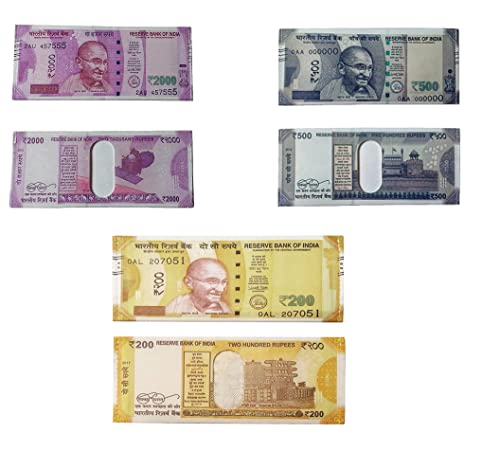 Ishita Fashions Multicolor Wallet - 2000, 500, and 200 Rupee Note