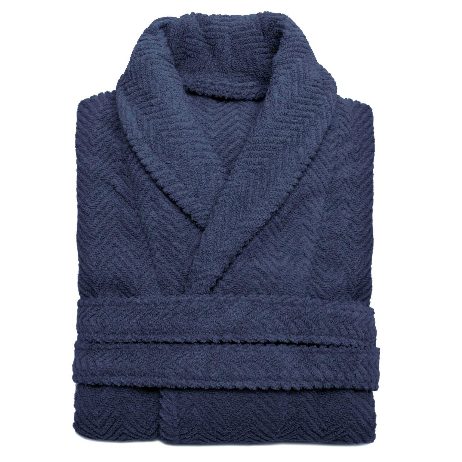 Linum Home Textiles WT50-00-LX 100% Turkish Cotton Waffle Terry Bathrobe