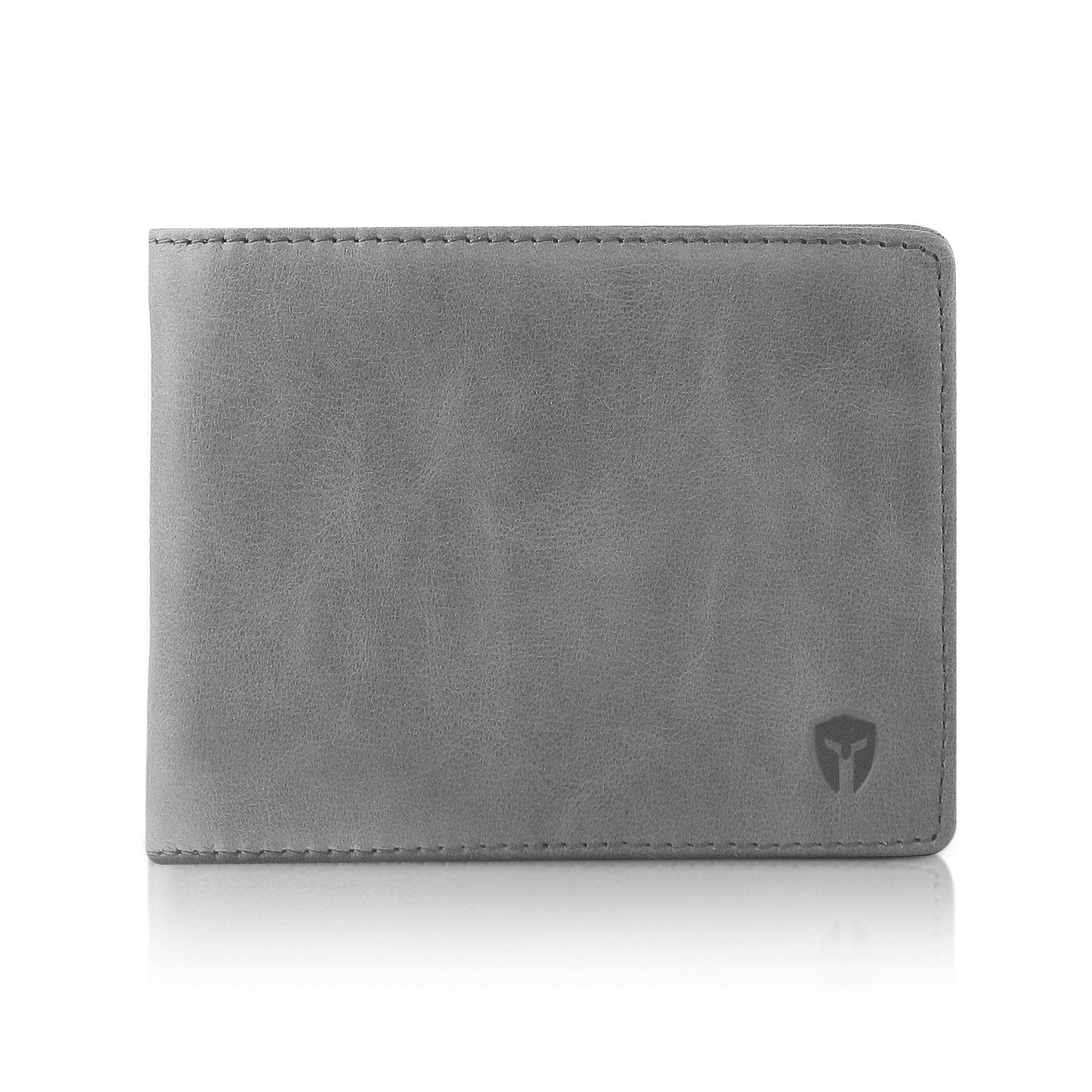 2 ID Window RFID Wallet for Men, Bifold Side Flip, Extra Capacity Travel Wallet by Bryker Hyde