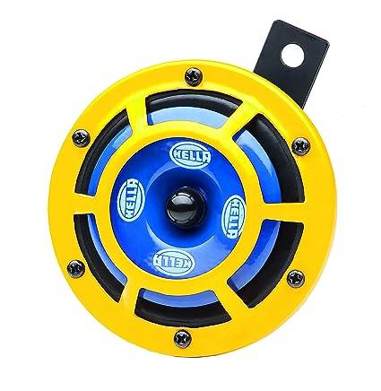 Sensational Amazon Com Hella H31000001 Set Sharp Tone Horn Kit With Yellow Wiring Digital Resources Caliashwinbiharinl